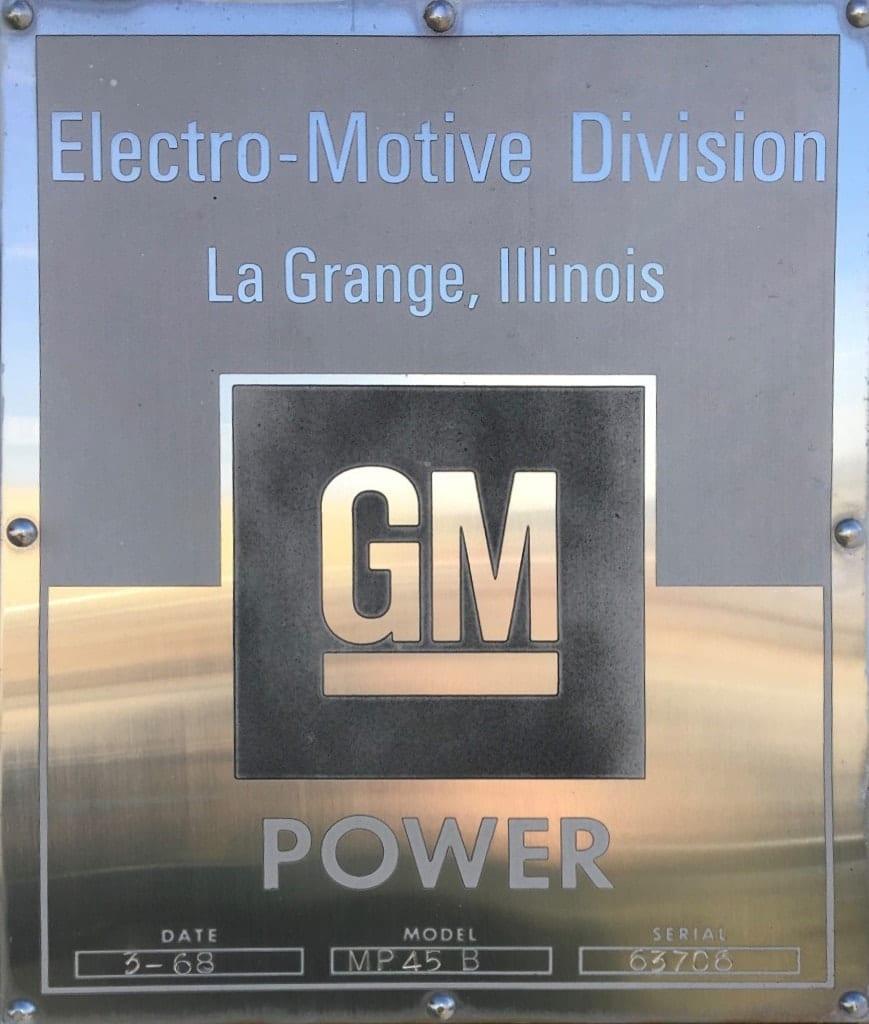 GM Power Plaque