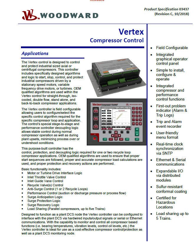 Vertex Compress Control Brochure